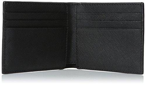 Barrow Spade Jack Jack Leather Spade Wallet Black Billfold Men's Slim wUSgqqRIB