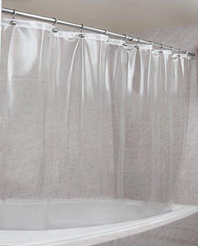 Extra Heavy Clear Shower Curtain Amazon Com