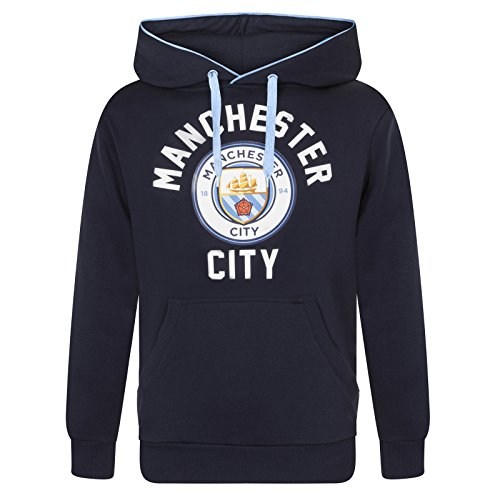 Manchester City FC Official Soccer Gift Mens Fleece Graphic Hoody – DiZiSports Store
