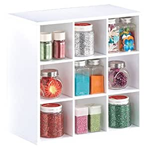 Amazon Com Jetmax Simply Built Craft Storage Desktop