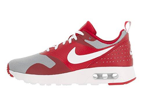 Nike Kids Air Max Tavas (gs) Universiteit Rood / Wit / Wolf Grijs Loopschoen 6,5 Kinderen Ons