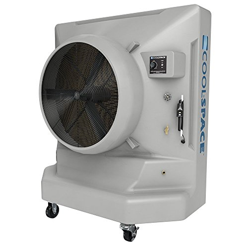 AVALANCHE-36-VD, 9700 CFM, Variable Speed Portable Evaporative Cooler with 3600 sq. ft. Cooling Capacity - COOL-SPACE CS6-36-VD