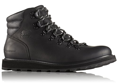 Sorel Men's Madson Hiker Waterproof Black Boot