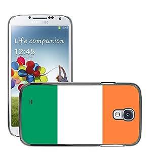 GoGoMobile Etui Housse Coque de Protection Cover Rigide pour // V00001078 Irlands Bandera Nacional País // Samsung Galaxy S4 S IV SIV i9500