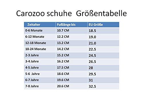 Carozoo weiche Sohle Leder Babyschuhe Krabbeln Schuhe Laufschuhe Krippe Enfants Hausschuhe Neugeborenen Auto und LKW (0-6 Monate bis 7-8 Jahre) Train C1
