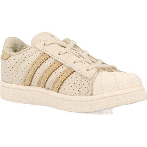 Zapatillas para ni�o, color Beige , marca ADIDAS ORIGINALS, modelo Zapatillas Para Ni�o ADIDAS ORIGINALS SUPERSTAR FASHION Beige Beige