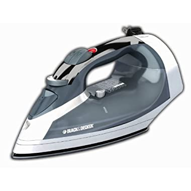 Black & Decker ICR05X Cord-Reel Steam Iron, Grey/White