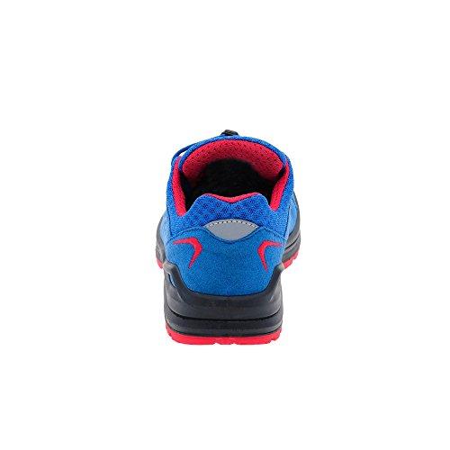 Niños Lowa INNOX EVO LO JUNIOR 350132-6041 azul / rojo blau