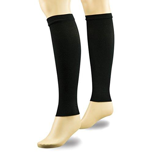 (Travelon Compression Leg Sleeve, Black)