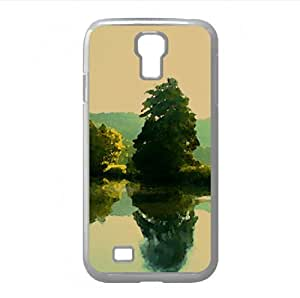 Tranquility Watercolor style Cover Samsung Galaxy S4 I9500 Case (Lakes Watercolor style Cover Samsung Galaxy S4 I9500 Case)