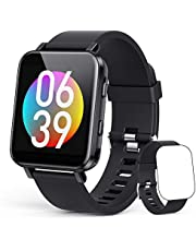 16GB MP3 Player Wrist Watch, AGPTEK Bluetooth 5.0 MP3 Touch Screen Wearable Music Player for Running, Jogging, Cycling, Hiking Support Recording, FM Radio, Pictures, Video and Stopwatch