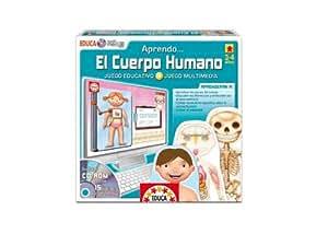 Educa Borrás 14247 - Educa Multimedia El Cuerpo Humano