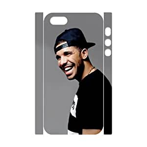 Iphone 5,5S 3D Customized Phone Back Case with Drake Image