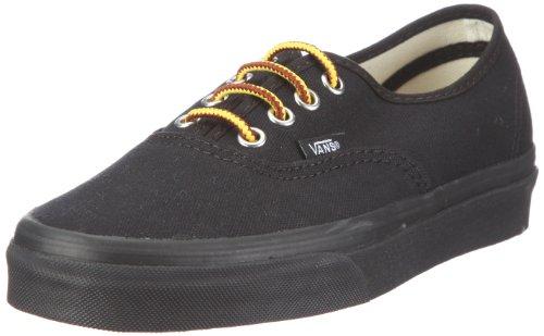 Vans Authentic 10oz. Canvas Shoes - Black/Black - Size - Skateboard Hosoi Skates