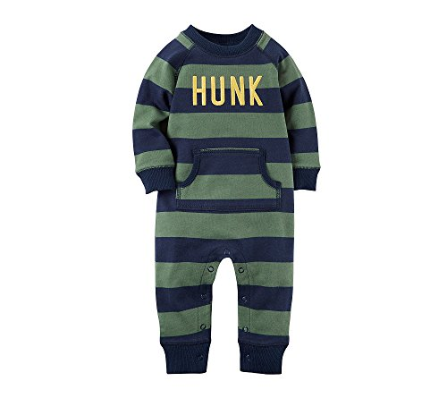 Carters Baby Boys Hunk Jumpsuit 18 Months