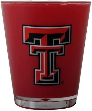 Jenkins Enterprises Texas Tech Red Raiders Two Tone Shot Glass
