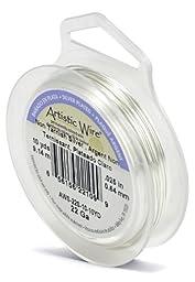 Artistic Wire 22-Gauge Tarnish Resistant Silver Wire, 10-Yard