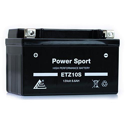 ExpertPower ETZ10S 12v8.6Ah Replacement Battery for Yuasa YTZ10S Honda CBR600RR (Honda Cbr600rr Performance Parts)