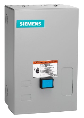 Siemens - 14EUE32BA - NEMA Magnetic Motor Starter, 120 to 240VAC Coil Volts, Overload Relay Amp Setting: 10 to 40A ()