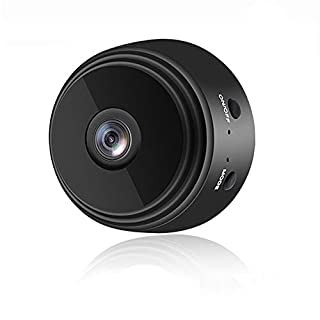 Mini Camera WiFi Wireless Video Camera 1080P HD Small Home Security Surveillance Cameras with 32G SD Card, BAIDREN Portable Tiny Nanny Cam with Night Vision Motion Detection for Car Indoor Outdoor