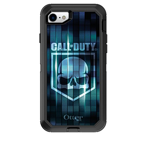 OtterBox Defender Series Case for iPhone 8 & iPhone 7 (NOT Plus) - Frustration Free Packaging - Call of Duty Blue CAMO