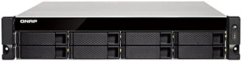 4GB RAM 1 x 10GbE 4 x 1GbE Redundant PSU Quad Core 2.0GHz 10GBASE-T QNAP TS-863XU-RP-4G-US 2U 8-Bay AMD 64bit x86-based NAS and iSCSI//IP-SAN