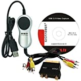 EZCAP.TV EzGRABBER. VHS to DVD Apple Mac. Capture & convert video from VHS, Analogue camcorders. Transfer any video source with composite or s-video output. USB 2.0. Supports MAC OSX 10.5.8 Onwards.
