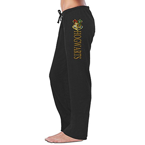 VI&VI Vivi 66 An Women's Sweatpants - Harry Potter Hogwarts Black