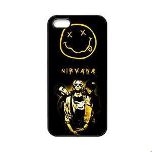 Generic Funny Phone Cases For Kid Custom Design With Rock Band Nirvana For Apple Iphone 5 5S Choose Design 3