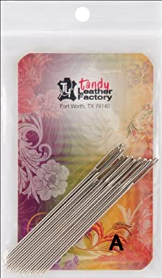 Tandy Leather Factory Stitching Needles, 10-Pack