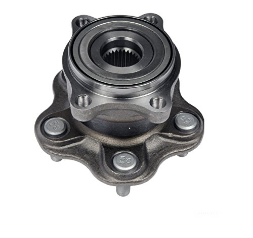 DTA Rear Wheel Hub Bearing Full Assembly NT541002G3 Fits Rear Left or Right 2003-2008 Infiniti FX35 (Drive Assembly Rear Hub)