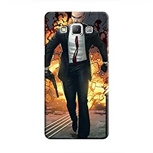 Cover It Up - Hitman Comic Galaxy A7 Hard Case