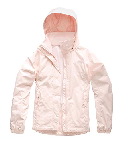 The North Face Women's Resolve 2 Jacket Pink Salt Medium