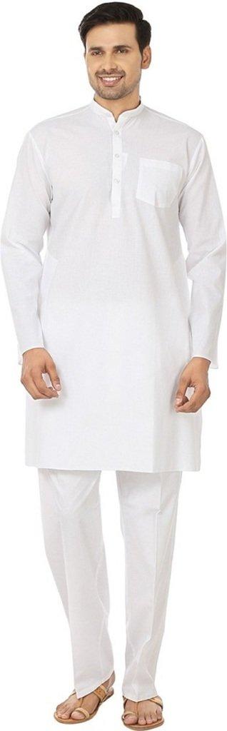 Royal Men's Fine Cotton Xtra Special Size Kurta Pyjama Set