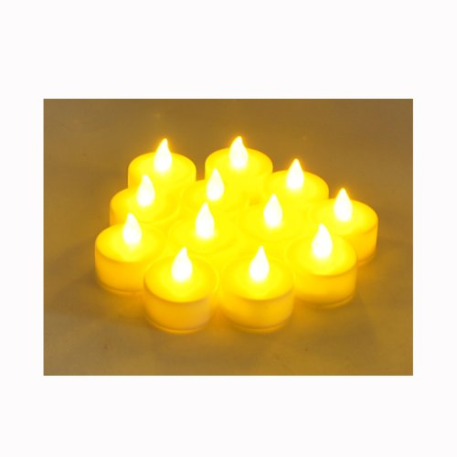 Battery-powered Flameless LED Tealight Candles