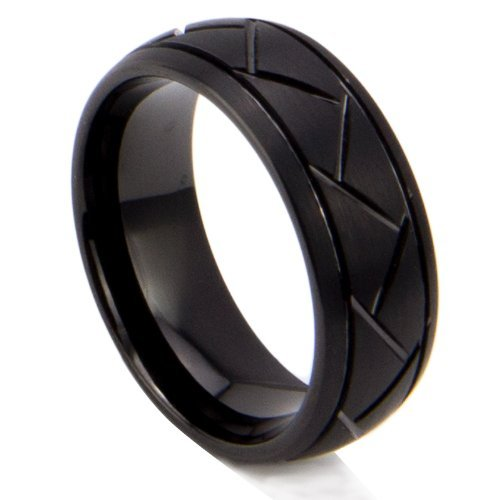 tungsten-carbide-mens-wedding-band-ring-inlay-black-plated