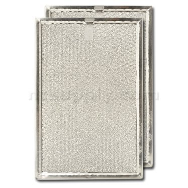 Replacement GE WB6X60 Microwave Grease Filter 2 Pack