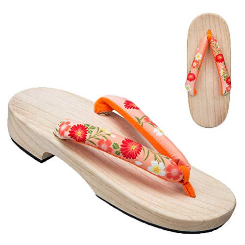 34bbf3ab530 Ez-sofei Women s Japanese Traditional Shoes Wooden Clogs Geta Sandals