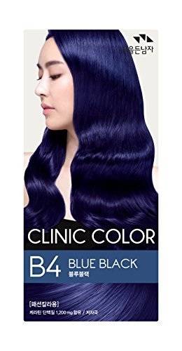 Amazon Com Somang Clinic Hair Color Blue Black B4 By The Flower
