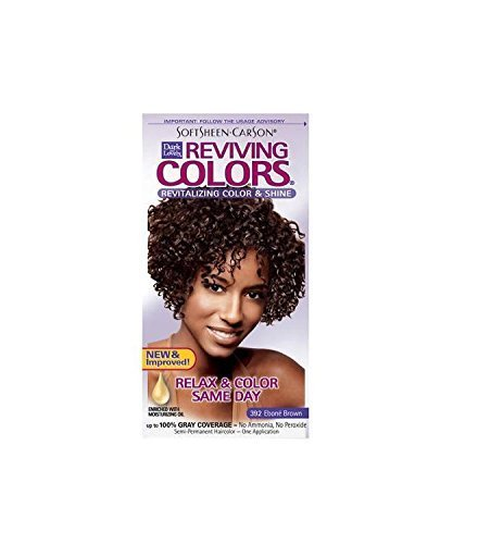 Dark and Lovely Reviving Color 392 Ebone Brown - 3 Pack