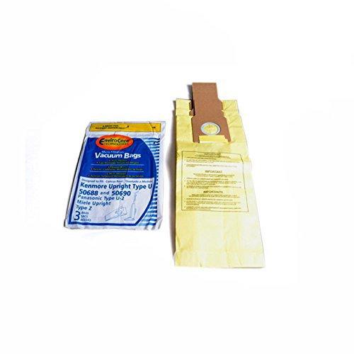 Kenmore 5068 Type U Envirocare Upright Vacuum 3 Paper Bags #