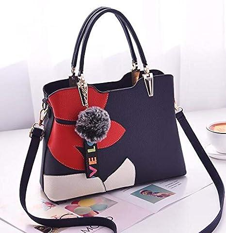 41da20c4e273 Amazon.com: DingXiong 2018 Women Bag Pu Leather Tote Brand Name ...