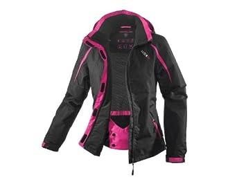 8c9dc0172565 Crivit Sports 74399 Veste de ski pour femme - Noir Rose  Amazon.fr ...
