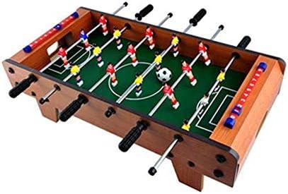 SZNWJ Mesa de futbolín Mesa- portátil Mini Futbolín Juego de ...