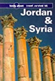 Front cover for the book Lonely Planet Jordan & Syria by Damien Simonis
