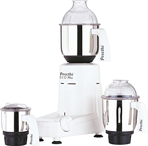Preethi Eco Plus Mixer Grinder 110-Volt for use in USA/Canada by Preethi