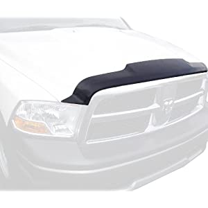 Auto Ventshade 322010 Aeroskin Flush Mount Dark Smoke Hood Protector for 2002-2008 Dodge Ram 1500, 2003-2009 Ram 2500 & 3500