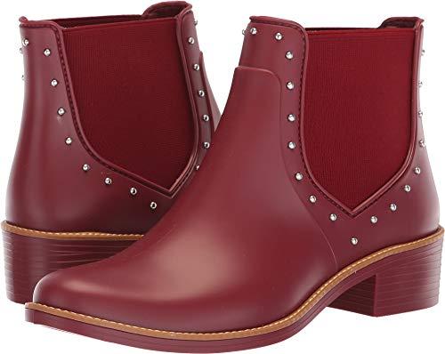 Bernardo Women's Peyton Rain Boots Bordeaux Rubber 6 M US M