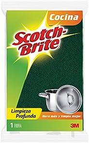 3M Scotch-Brite 3M Fibra Esponja, Tamaño Grande