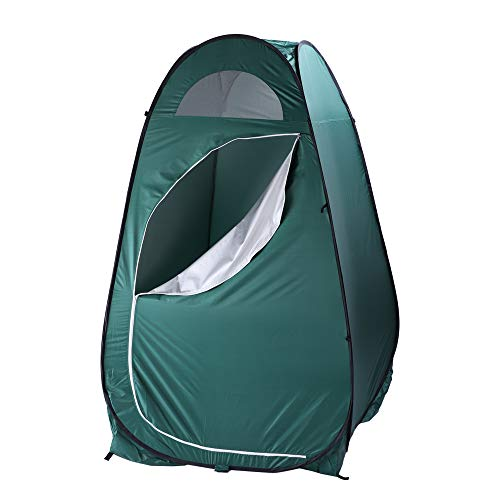 VINGLI Portable EZ Pop UP Changing Room Tent with Carrying Bag, Perfect for Outdoor Dressing/Shower/Camping Toilet/Fishing/Beach, Backpack Shelter (Upgraded)